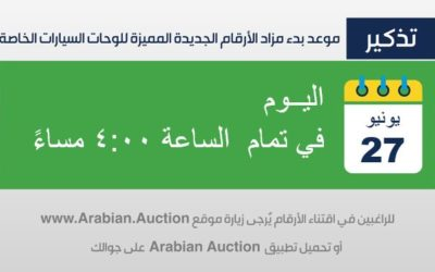 Number Plates – Online Auction